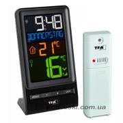Комнатные электронные термометры,  термометры-гигрометры,  метеостанции.